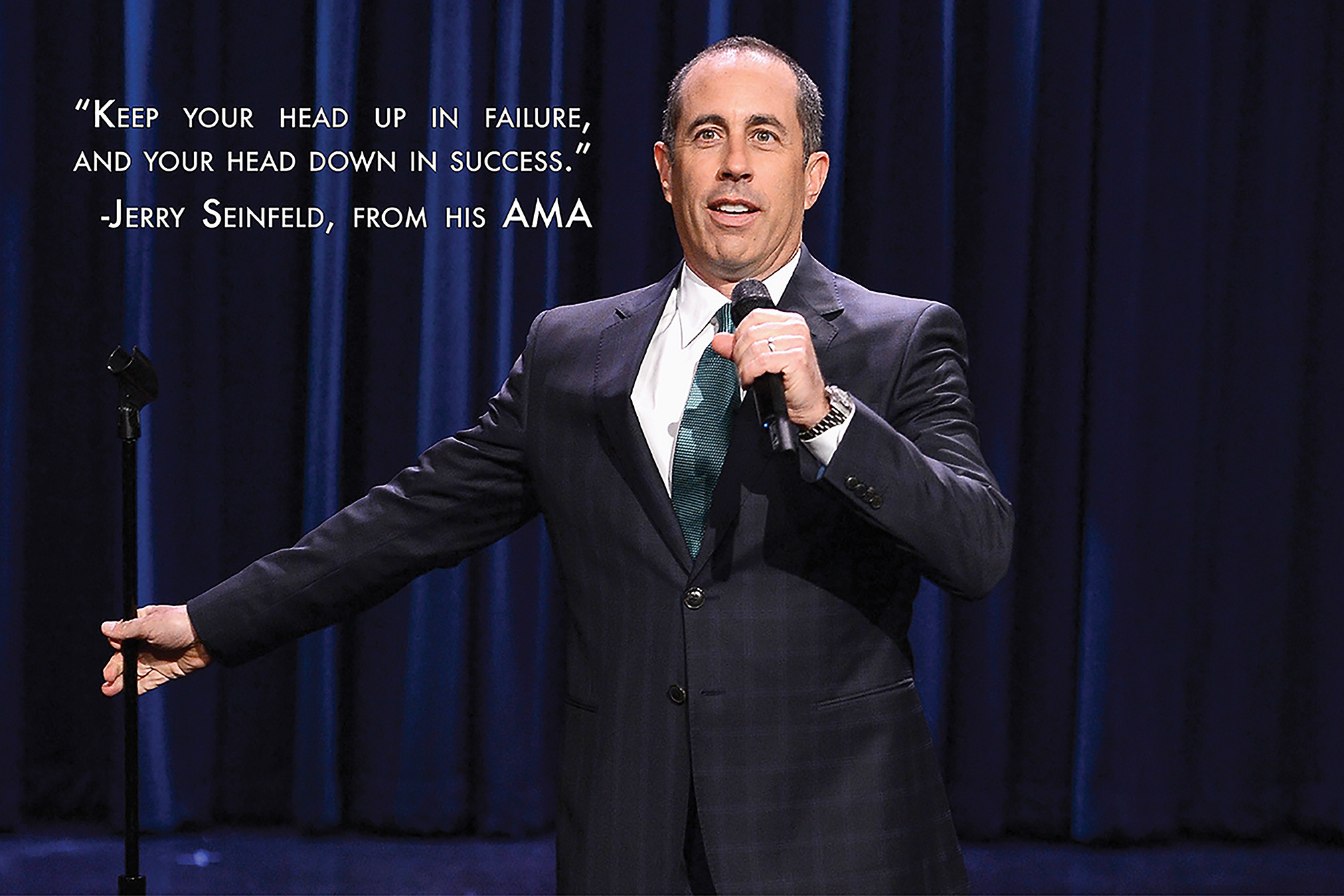 Jerry Seinfeld AMA quote